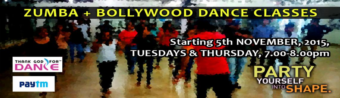 ZUMBA + BOLLYWOOD DANCE CLASSES by Thank God For Dance at Ptm (Noida)
