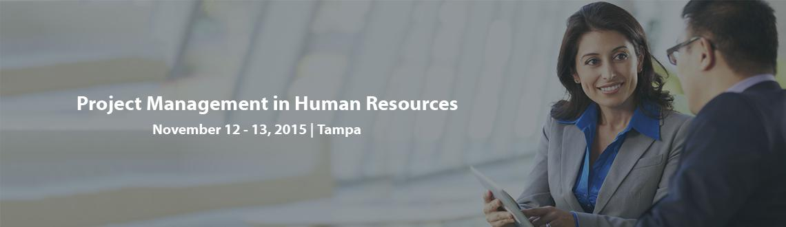 Project Management in Human Resources