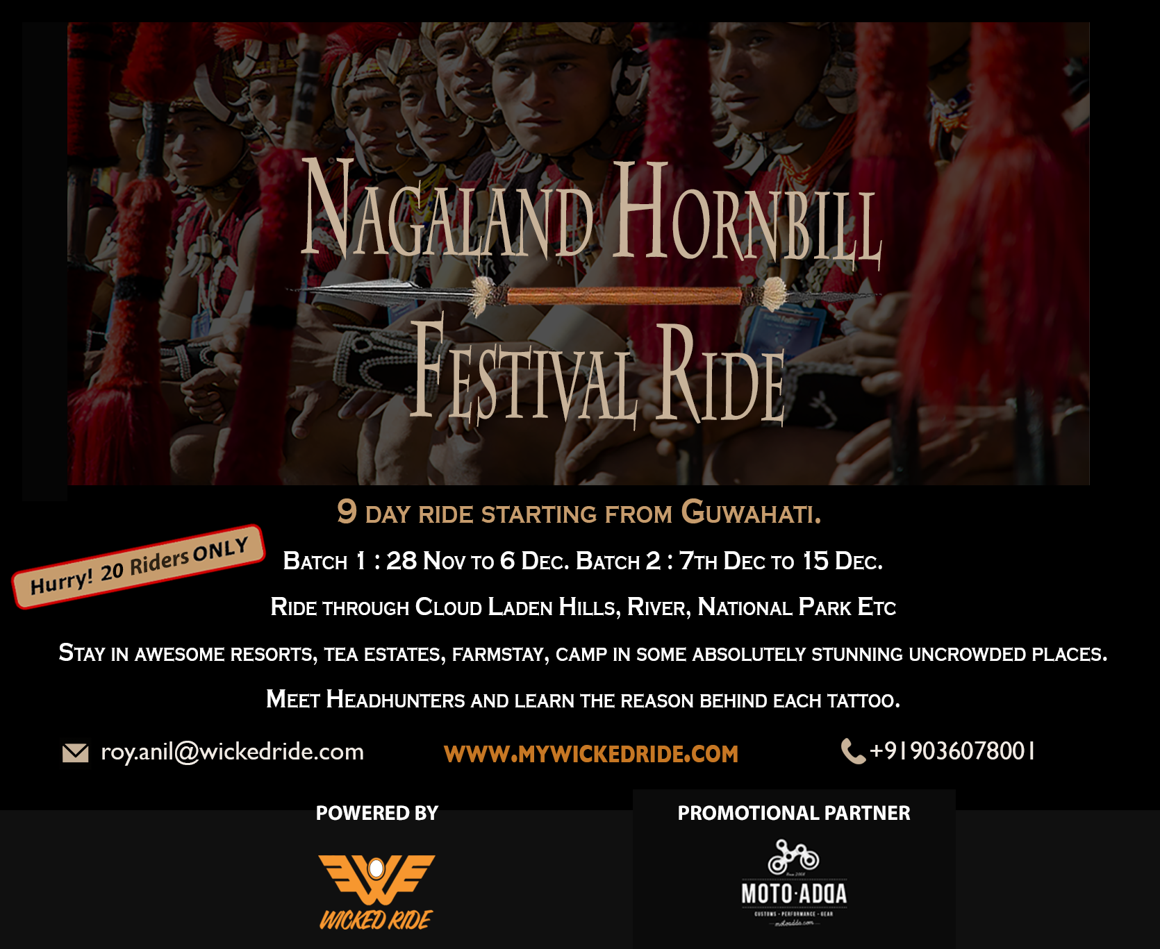 A 9-day ride, exploring Nagaland and everything it has to offer
