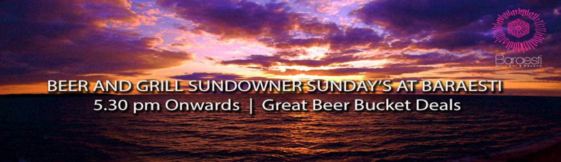 Beer and Grill Sundowner Sundays at baraesti