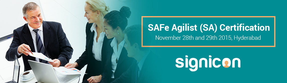 Book Online Tickets for SAFeAgilist (SA) in Hyderabad, Hyderabad. Overview: