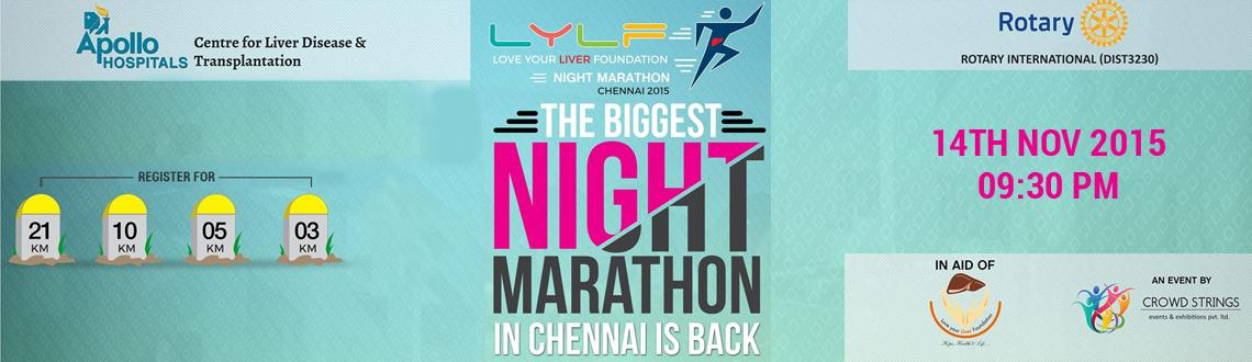 LYLF Night Marathon 2015