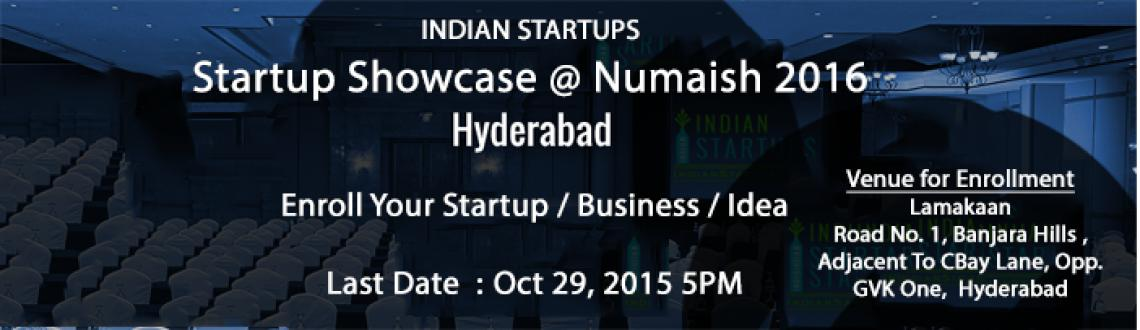 Book Online Tickets for Indian Startups, Hyderabad.  