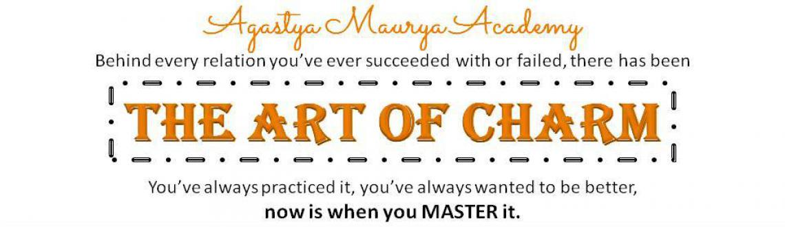 Book Online Tickets for The Art of Charm, Mumbai. In everything relation we succeed and fail in, there\\\'s \\\'The Art of Charm\\\'. All great men in the history of mankind have mastered it. This is an opportunity for you to master the Art of Charm, and become the best that you can be in ev