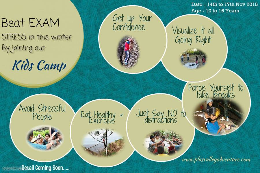 Book Online Tickets for Childrens Winter Camp, Pune. Plus Valley Adventure Presents Winter Adventure Camps for Children's between 10yrs to 16 yr old.These camps are specially designed to keep in mind few things. Outdoor Education -  Outdoor education usually refers to organized learning t