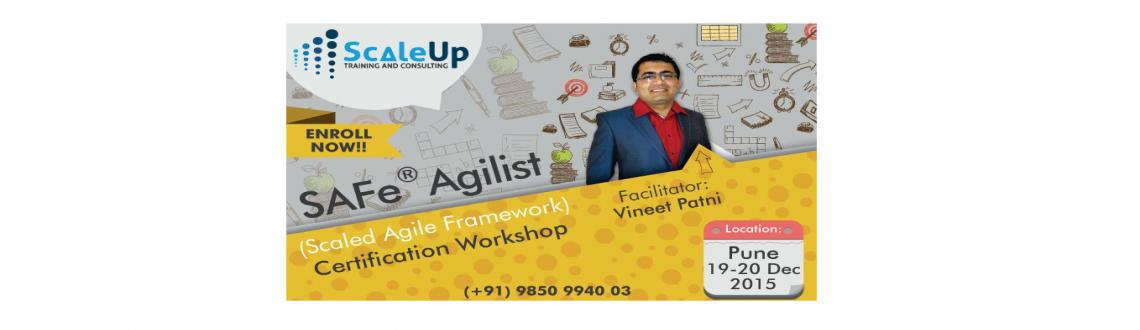 Become a Scaled SAFe Agilist Certified with customized training and workshop at ScaleUp Consultants on 12 - 13 December 2015 only at Pune, India.