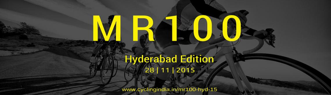 Book Online Tickets for MR 100 Hyderabad, Hyderabad.  