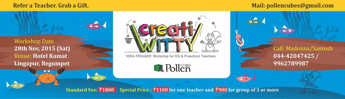 creatiWITTY Workshop for Teachers