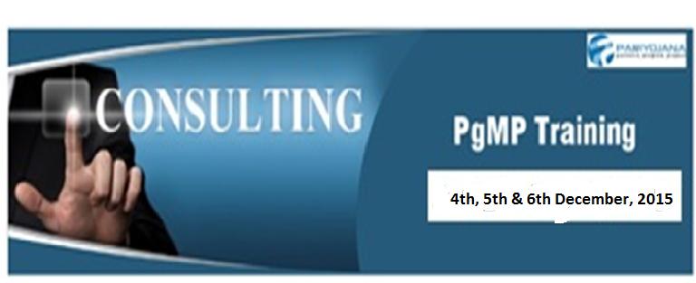 PgMP Training Dec 2015 - Bengaluru