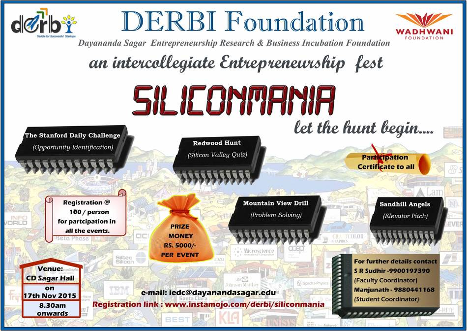 Book Online Tickets for Siliconmania 2015, Bengaluru.  