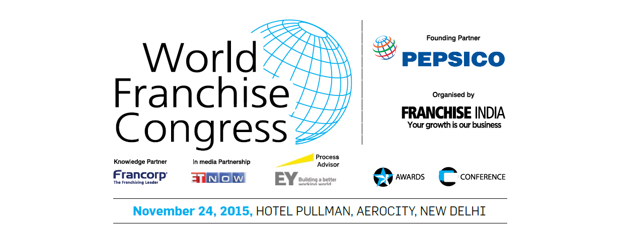Book Online Tickets for World Franchise Congress, NewDelhi. World Franchise Congress is a Leadership Convention brought jointly by Franchise India & PepsiCo India to bring together the smartest futurists and franchise leaders from all over the world. The global visionaries will explore and assess the impa
