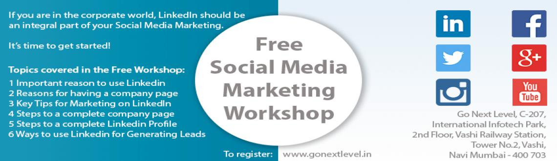 Book Online Tickets for Free Workshop - LinkedIn for Increasing , Mumbai.      Free Workshop on Using LinkedIn for Getting More Leads (RegistrationCompulsory) http://gonextlevel.in/registration/ LinkedIn is like a trade show—a place to keep things pretty buttoned-up and formal. If you are in the&nb