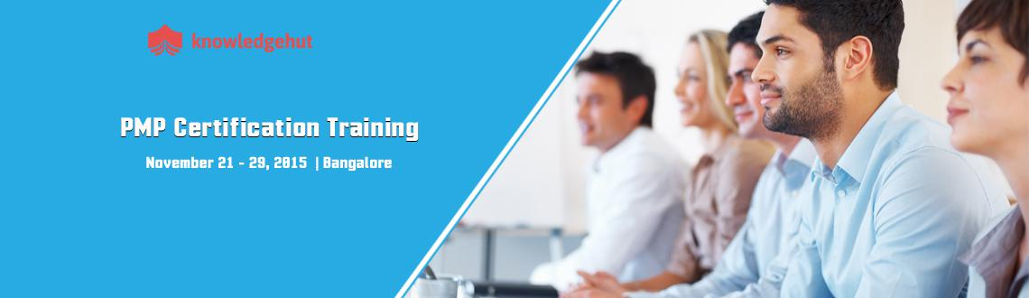 Book Online Tickets for PMP Certification Training in Bangalore, Bengaluru. PMP® Certification Training in Bangalore http://www.knowledgehut.com/project-management/pmp-certification-training-bangalore#cls  Course Overview: Project Management Professional (PMP®) certification is the most distinguished profes