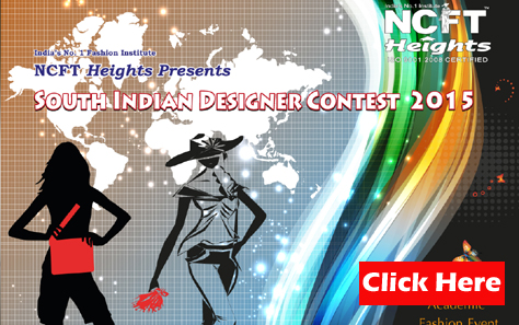 Book Online Tickets for NCFT Heights South Indian Fashion Design, Kodaikanal. Biggest South Indian Contest 2015 held at Kodaikanal.  Reqrading Cash proces  Rs.10000, Rs. 5,000, Rs. 3000