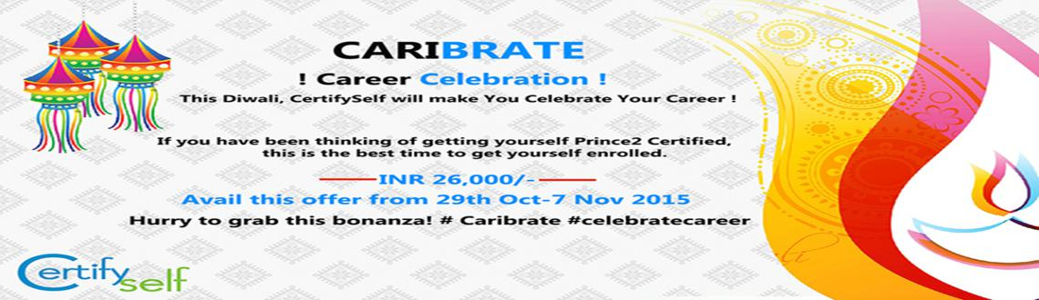 Book Online Tickets for Special Offer: Prince2 Certification In , NewDelhi. Are you thinking of getting a certification in Prince2? This is the best opportunity to get this certification, as CertifySelf is offering this course at a never before price of 26,000 rs. This is a diwali offer, under which you can register anytime
