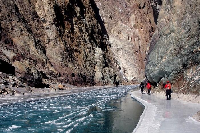 The Chadar Frozen River Trek Batch 1