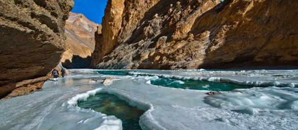The Chadar Frozen River Trek Batch 2