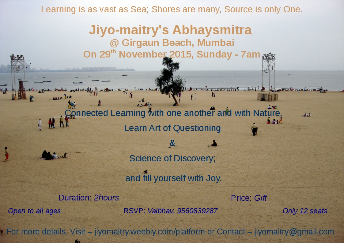 Abhyasmitra Learning session @ Beach