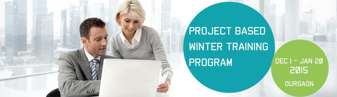Book Online Tickets for Project Based Winter Training Program 20, Gurugram. Project Based Winter Training Program 2015-16 by Azure Skynet across India!!!  Dear Student, Greetings from Azure Skynet !!! We are happy to inform you that Azure Skynet is launching its 7 Days Project Based Winter Training/Internship Progr