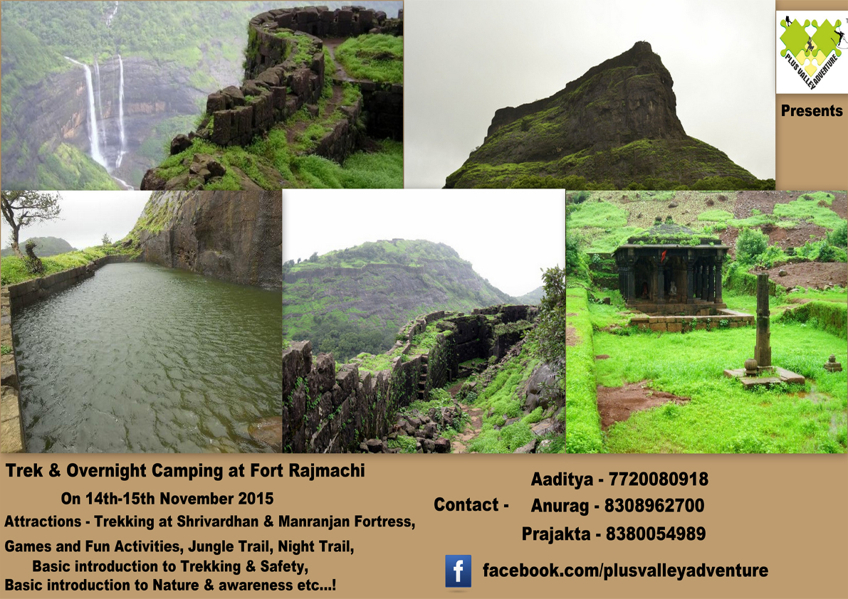 Trek and Overnight Camping at Fort Rajmachi