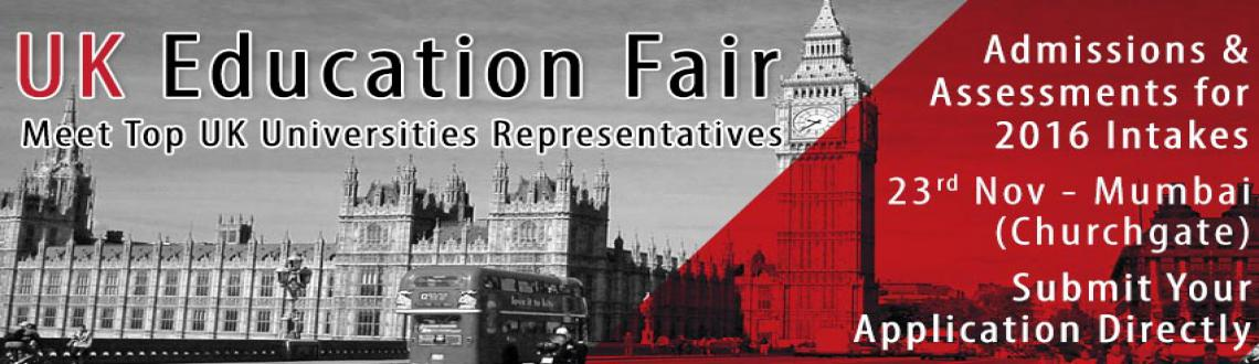 Upcoming UK Education Fair in India for 2016 Intakes Hosted by The Chopras