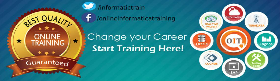 Book Online Tickets for Online Training for Leading IT Courses, Hyderabad. Online Informatica Training provides the Online Training for all major IT courses. It provides the online training which can be accessible from any where in world. The learners able to attend the online classes at their chosen time of schedules. 