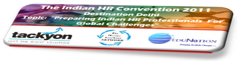 Book Online Tickets for The Indian Human Resource Convention 201, Noida.  