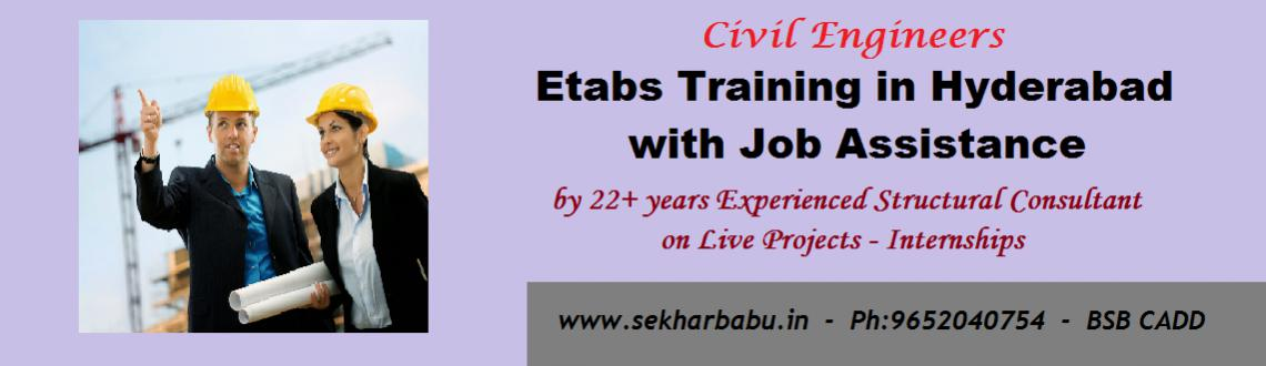Book Online Tickets for Etabs Training in Hyderabad with Job Ass, Hyderabad. Course Fee: 6000/- 