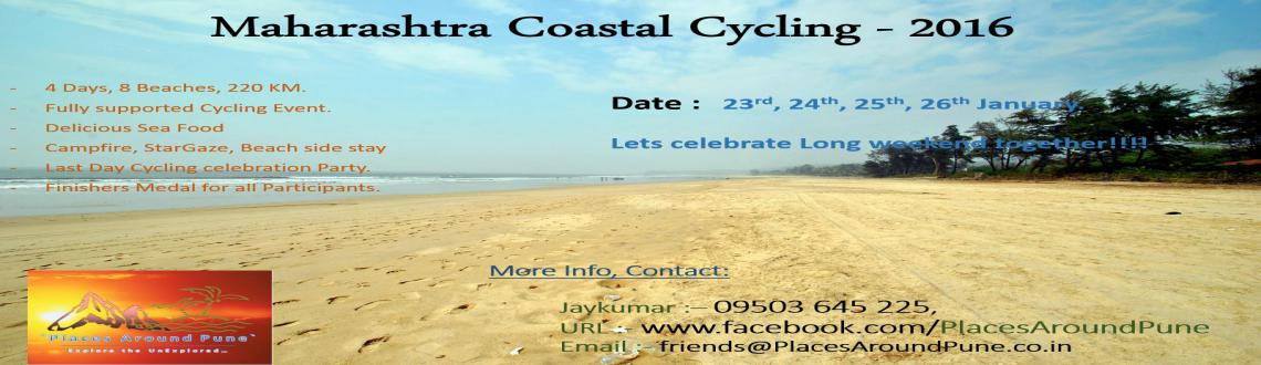 Book Online Tickets for Maharashtra Coastal Cycling - 2016, Pune. Hi Riders,welcome to the \\\'Places Around Pune\\\'(www.facebook.com/PlacesAroundPune) with Maharashtra Coastal Cycling- 2016. Lets Explore beautiful Konkan roads on our wheels.The 200 Kms Cycle Expedition which passes through the most scenic