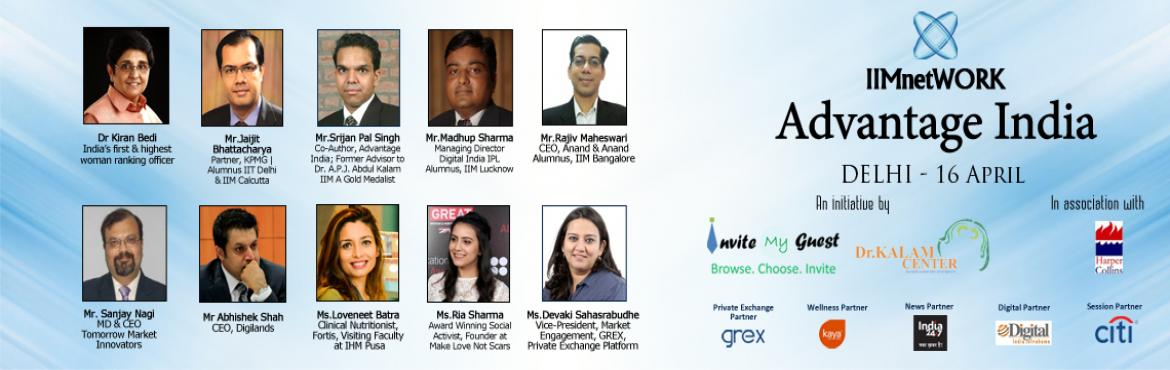 IIMnetWORK Advantage India Conclave-| Delhi-April 16th