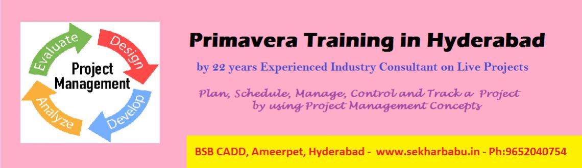Primavera Training In Hyderabad on Live Projects