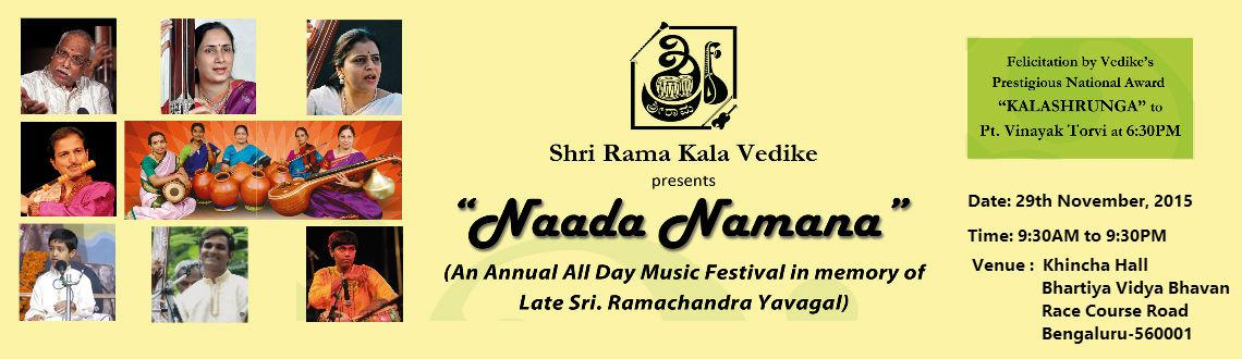 Naada Namana 2015 and Kalashrunga-award presentation
