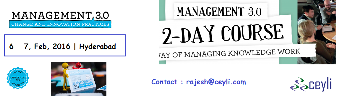 Management 3.0, M3.0, M30, Management, Agile, ProjectManagement, hyderabad