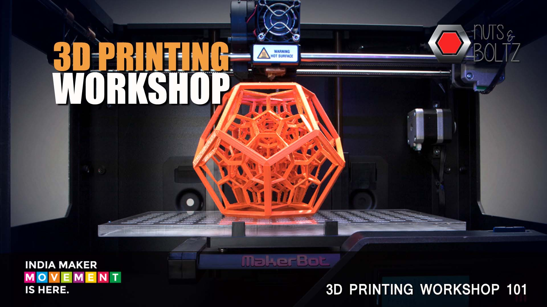 Book Online Tickets for 3D Printing Workshop, NewDelhi. 3D Printing is one of the NEXT BIG THING. In recent times, 3D-printing has come center stage, with articles on its development and importance-and its paradigm-shifting effects. Essentially, this decade-old technology has now developed to an extent wh