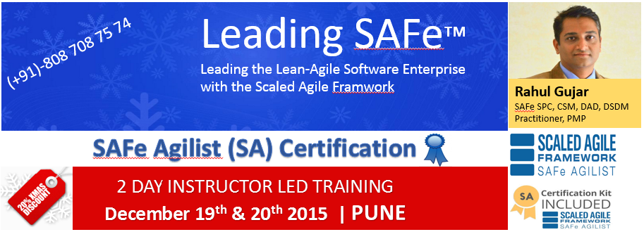 SAFe Agilist Certification in Pune
