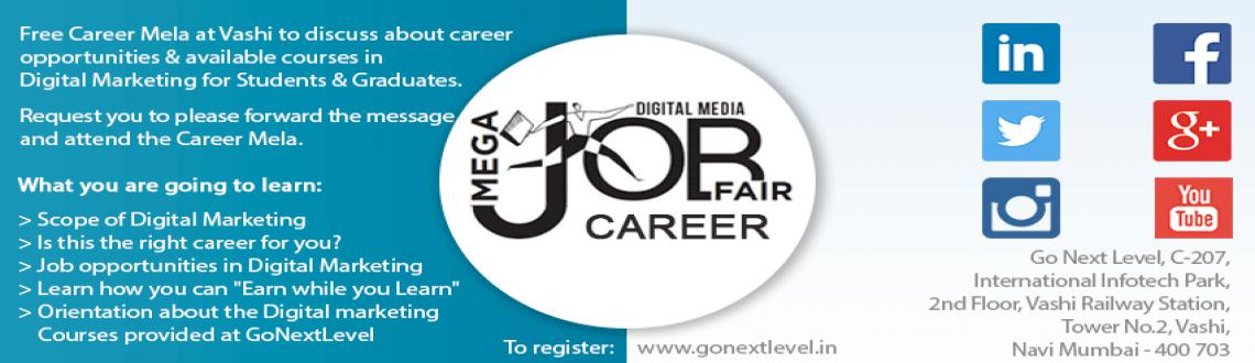 Book Online Tickets for Career Guidence In Digital Marketing, Mumbai. Walk-in between 11:00AM to 5:00PM to learn how you can build Digital Marketing as a career option and get jobs in the Reputed Companies as a \\\