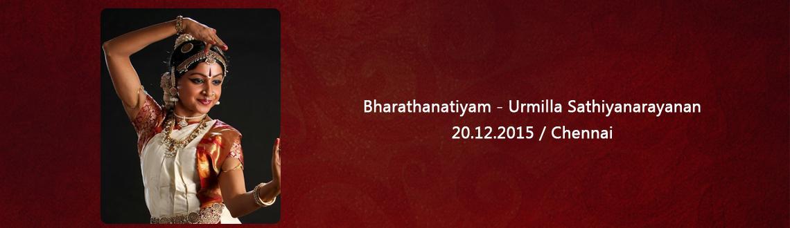 Bharathanatiyam - Urmilla Sathiyanarayanan