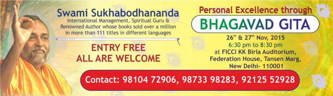 Personal Excellence through Bhagavad Gita New Delhi