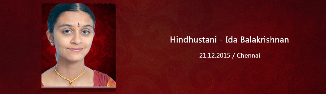 Hindhustani - Ida Balakrishnan