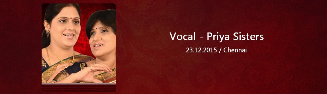 Vocal - Priya Sisters