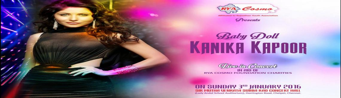 RYACOSMO Foundation Presents KANIKA KAPOOR Live In Concert