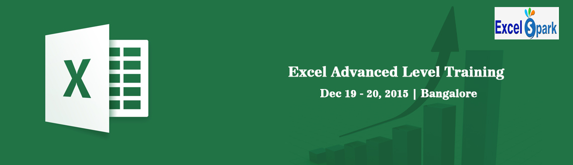 Book Online Tickets for Excel Advanced Level Training Bangalore, Bengaluru. Exclusive Advanced Excel Training in Bangalore