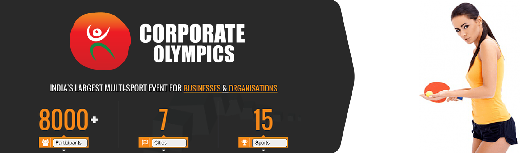 Book Online Tickets for Corporate Olympics ( Table Tennis ), Pune. 