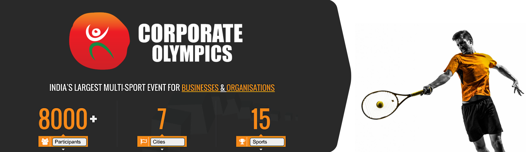Book Online Tickets for Corporate Olympics (Tennis), Pune. 