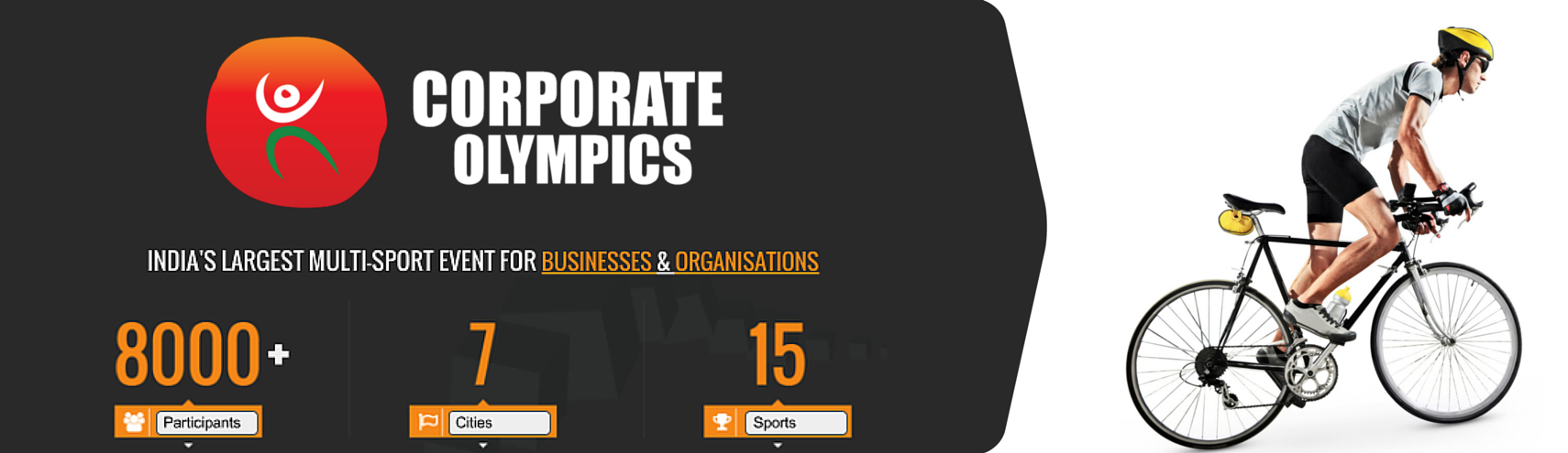 Book Online Tickets for Corporate Olympics (Cycling), Pune.  