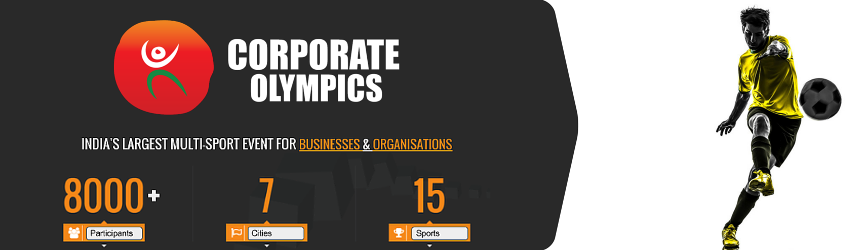 Book Online Tickets for Corporate Olympics (Football), Pune. 