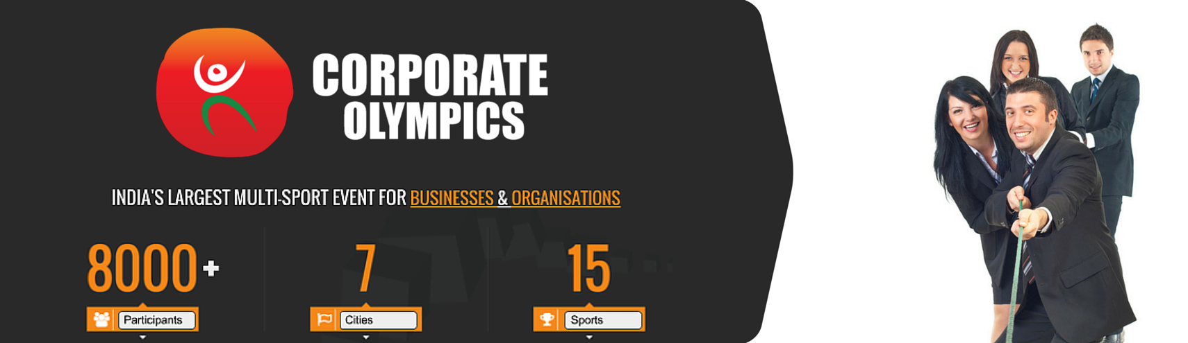 Book Online Tickets for Corporate Olympics (Tug Of War), Pune. 