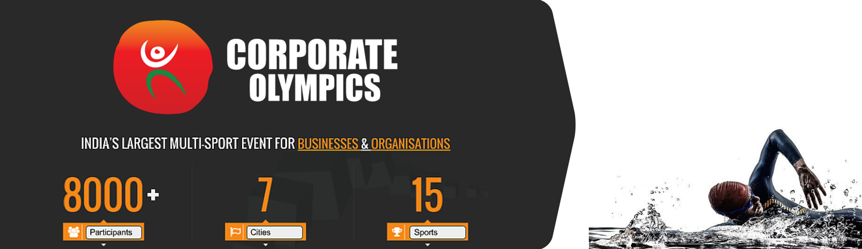 Book Online Tickets for Corporate Olympics (Swimming), Pune. 