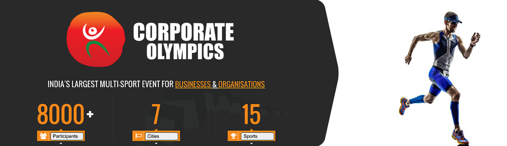 Book Online Tickets for Corporate Olympics (Marathon), Pune. 
