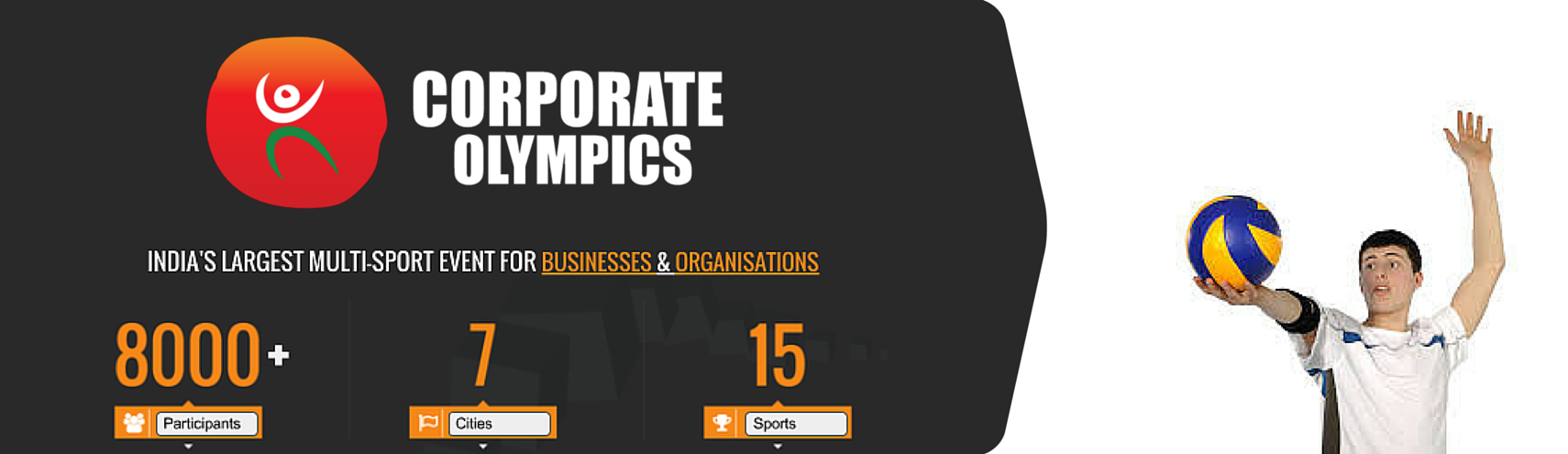 Book Online Tickets for Corporate Olympics (Volleyball), Pune. 